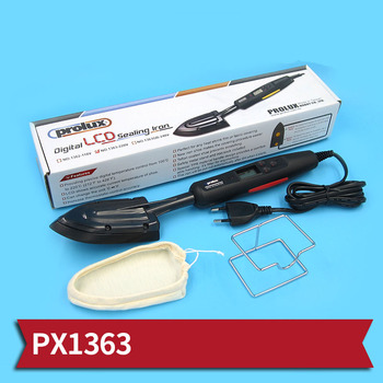 Digital LCD Sealing Iron PX1363 220V Electronic Temperature Control Feather Iron for RC Boats/Aircrafts Spare Parts