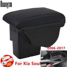 Boîte d'accoudoir de voiture 3USB, boîte de rangement de pièces de rénovation pour Kia Soul 2009 2010 2011 2012 2013 2014