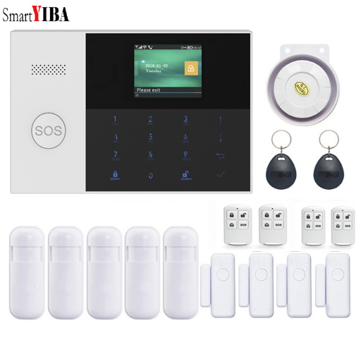 Q05 WiFi IP APP GSM RFID Wireless Home Security Alarm Burglar System Auto Dialer