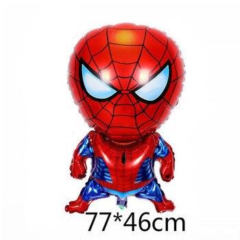 10pcs Super Hero Balloon Latex Balloons Spiderman Kids Spider man Birthday Party Decoration Baby Shower Balloons 14