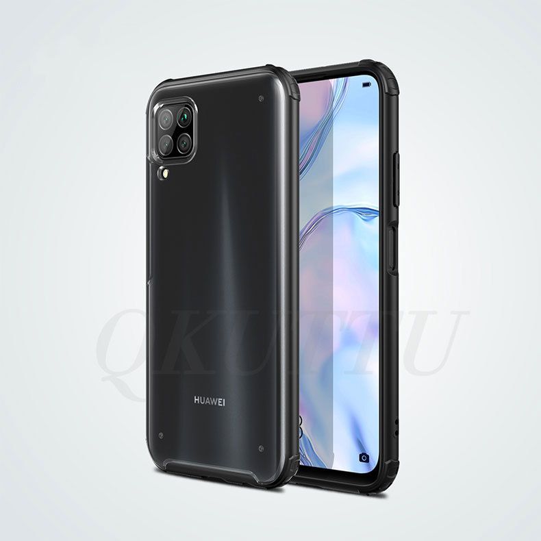 Case For Huawei P40 Lite Case P40 Pro Cover Translucent Frosted PC Matte Hard Phone Case For Huawei P40 Lite Pro P40lite Nova 7I
