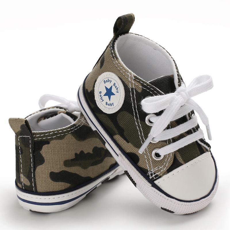 Classic Casual Canvas Baby Shoes Newborn Sports Sneakers First Walkers