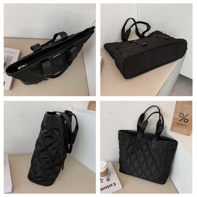 Large Nylon Pillow Bag  6