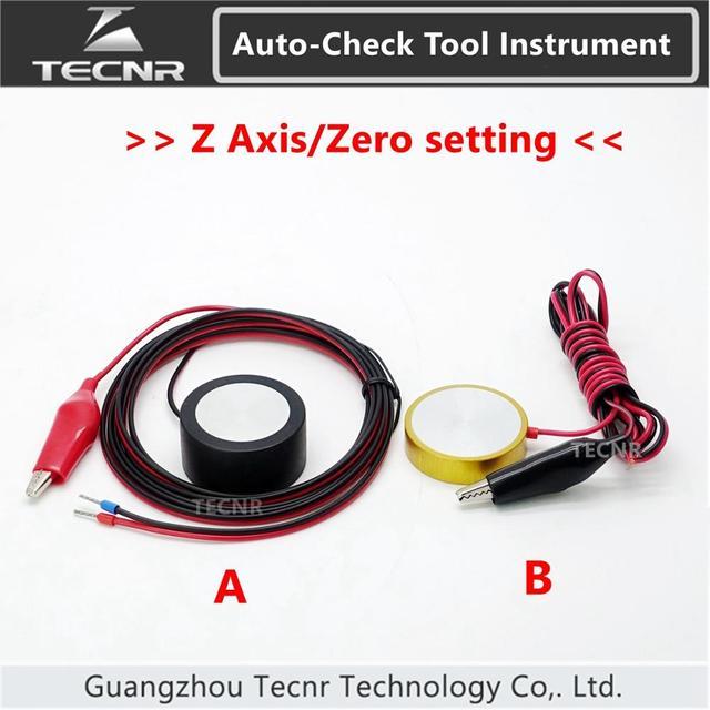 CNC Router Gravur Maschine Werkzeuge Einstellung Auto Überprüfen Z achse Instrument Null einstellung sensor