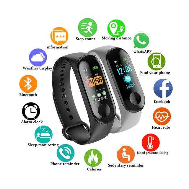 Bluetooth Sport Smart Watch Men Women Smartwatch For Android IOS Fitness Tracker Electronics Smart Clock Band Smartwach 5
