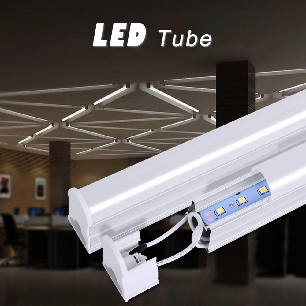 T5 LED <font><b>Tube</b></font> 120/90/60CM <font><b>85</b></font>-265V LED Lamp Bulb 20/14/10W LED Fluorescent <font><b>Tube</b></font> For Indoor Kitchen lighting 2835 SMD LED Light tubo image