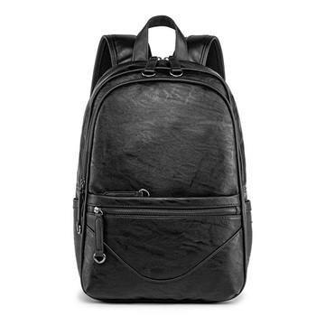 Men Backpack pu Leather New Fashion Casual Teenager School Travel Bags Male High Quality Large Capacity Student Bags brand men backpack leather male functional bags men waterproof backpack big capacity laptop backpack school bags for teenager