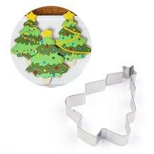 Звезда Рождественская елка формочка для печенья из нержавеющей стали формочка для печенья кухонные инструменты для выпечки Пряничный человек печатная форма