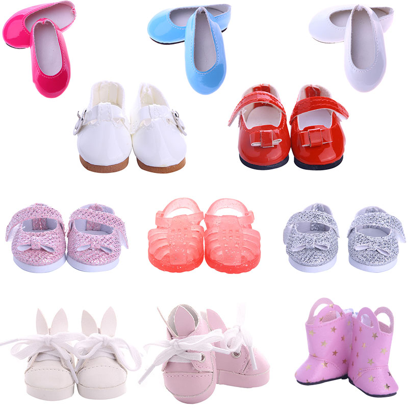 5 Cm Length 15 Lovely Doll Shoes To Choose For 14.5 Inch Wellie Wisher & Nancy Classical & 32-34 Cm Paola Reina Doll Clothes