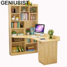 De Oficina Schreibtisch łóżeczko Escritorio wsparcie Ordinateur przenośny stojak biurko na laptopa komputer stół z półką tanie tanio GENIUSIST NONE HOME CHINA Laptop biurko