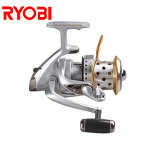 ecooda best selling 5 1bb spinning reel 5 1 1 gear ratio fishing reel max drag 8kg carrete de pescar bait casting aluminum spool RYOBI PROSKYER NOSE Fishing Reel 3.9:1 Gear Ratio Spinning Reel 12KG Max Drag Aluminum Spool Carp Fishing Reels for Saltwater
