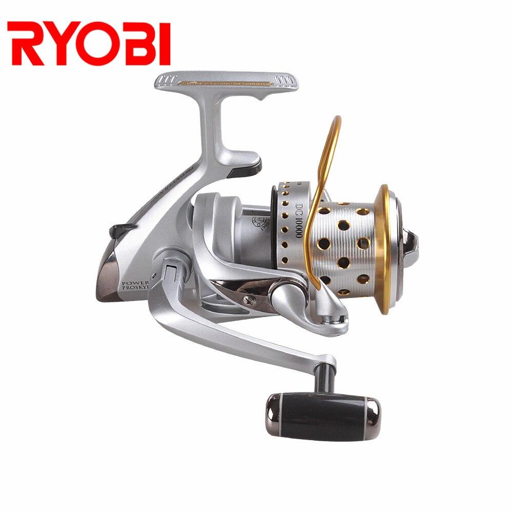 ryobi proskyer nariz carretel de pesca 3 9 1 relacao engrenagem molinete 12 kg max arraste