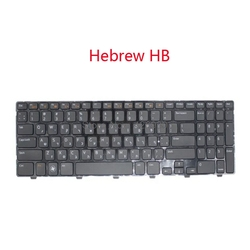 Laptop NE SL HB JP klawiatura dla DELL Inspiron 15R N5110 M5110 M511R Nordic słoweński hebrajski japoński nowy