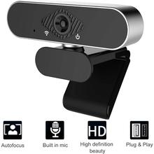 Webcam Mit Mikrofon 1080P HD Webcam Streaming Computer Web Kamera USB Weitwinkel Computer Kamera für Laptop Video Aufruf cheap BOXUSEN 1920x1080 CN (Herkunft) NC-C5 2Mega CMOS