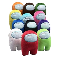 12 Color Game Plush Stuffed Doll Toy With Music Kawaii Stuffed Doll Christmas Gift Cute Red Small Size 10CM Toys For Child Gifts