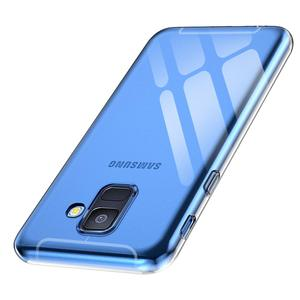 Image 2 - Ultra Thin Transparent TPU for Samsung Galaxy A6 A6Plus A6S 2018 Phone Case Back Cover Clear Silicone Fundas GalaxyA6 Plus Coque