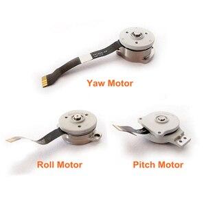 Image 3 - Brand New oryginalny dla DJI Phantom 4/4Pro/4Pro Advance 2.0 części naprawa Gimbal Roll/Pitch/silnik turbinowy ostrza ostrza elastyczny kabel
