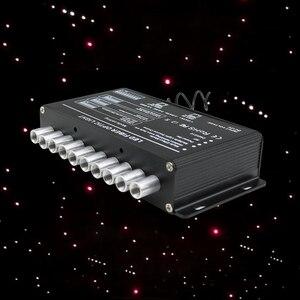Image 1 - 5 ワットの撮影星光ファイバ光源rfリモート流星星空効果白照明ledエンジン