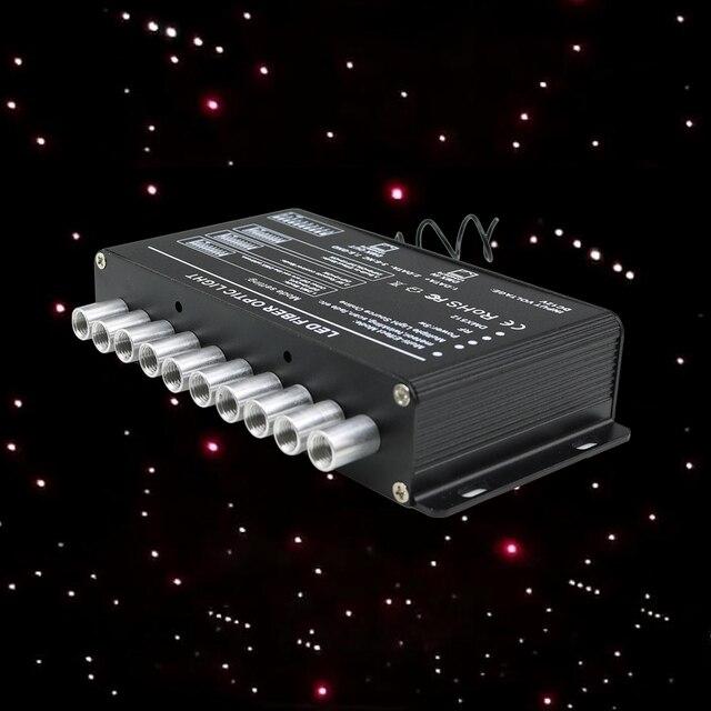 5 ワットの撮影星光ファイバ光源rfリモート流星星空効果白照明ledエンジン