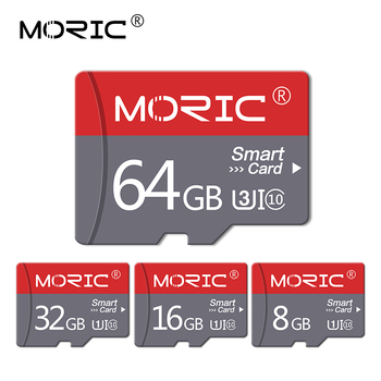 Original Moric Micro SD 32GB 64GB 128gb 256GB Class 10 mini TF Card 4gb 8GB 16GB cartao de memoria Flash Memory for phone/PC image