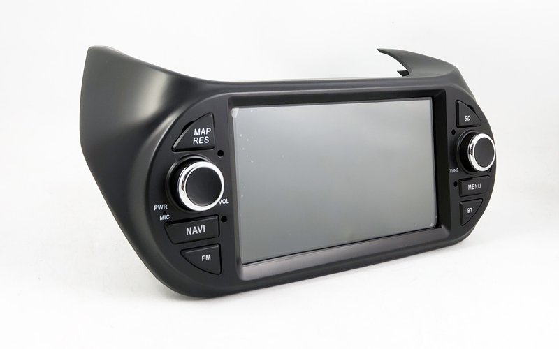 1 Din Car Multimedia Player GPS Android9.0  DVD Automotivo For FIAT Fiorino Qubo Citroen Nemo Peugeot Bipper Radio 4 Core radio tape recorder (2)