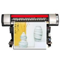 Plotter de impresora de gran formato de 1600mm con cabezal de impresión de vinilo de inyección de tinta XP600