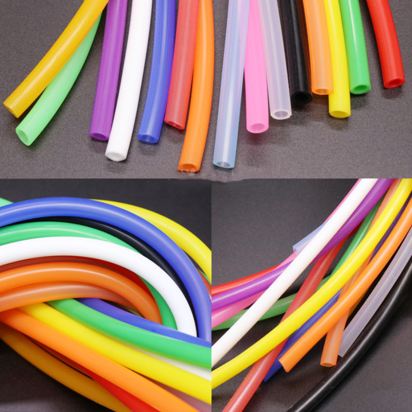 Silicone Tube 4x7 Inner Diameter 4mm Outer Diameter 7mm Food Grade Tasteless Sealed Silicone Hose Multicolor Optional