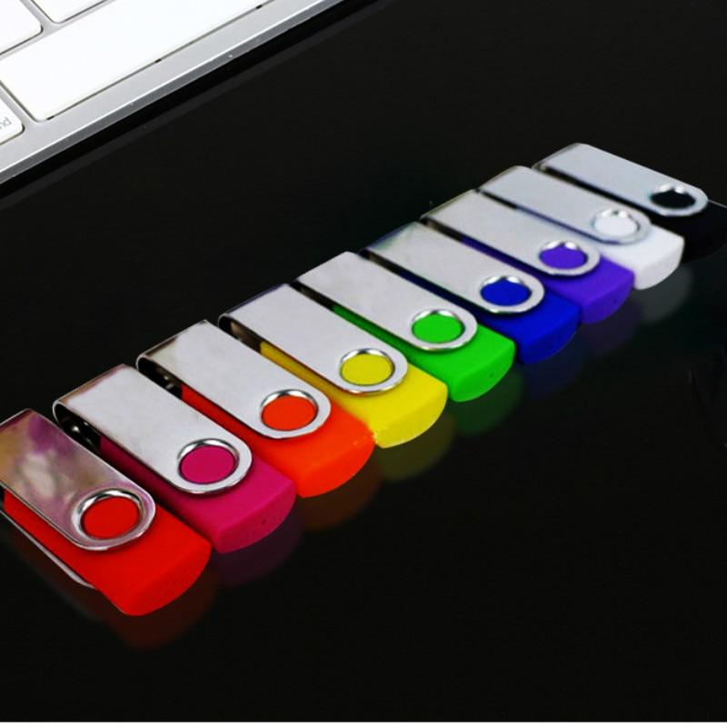 USB 2.0 Metal Pen Drive Fast Speed USB Flash Drive 4GB 8GB 16GB 32GB 64GB Pendrive USB Stick Flash Drive(over 10pcs Free Logo)