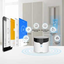 Broadlink RM4 BestCon RM4C Pro WiFi Smart Home Hub, IR RF433 tout en un télécommande universelle fonctionne avec Alexa, Google Home