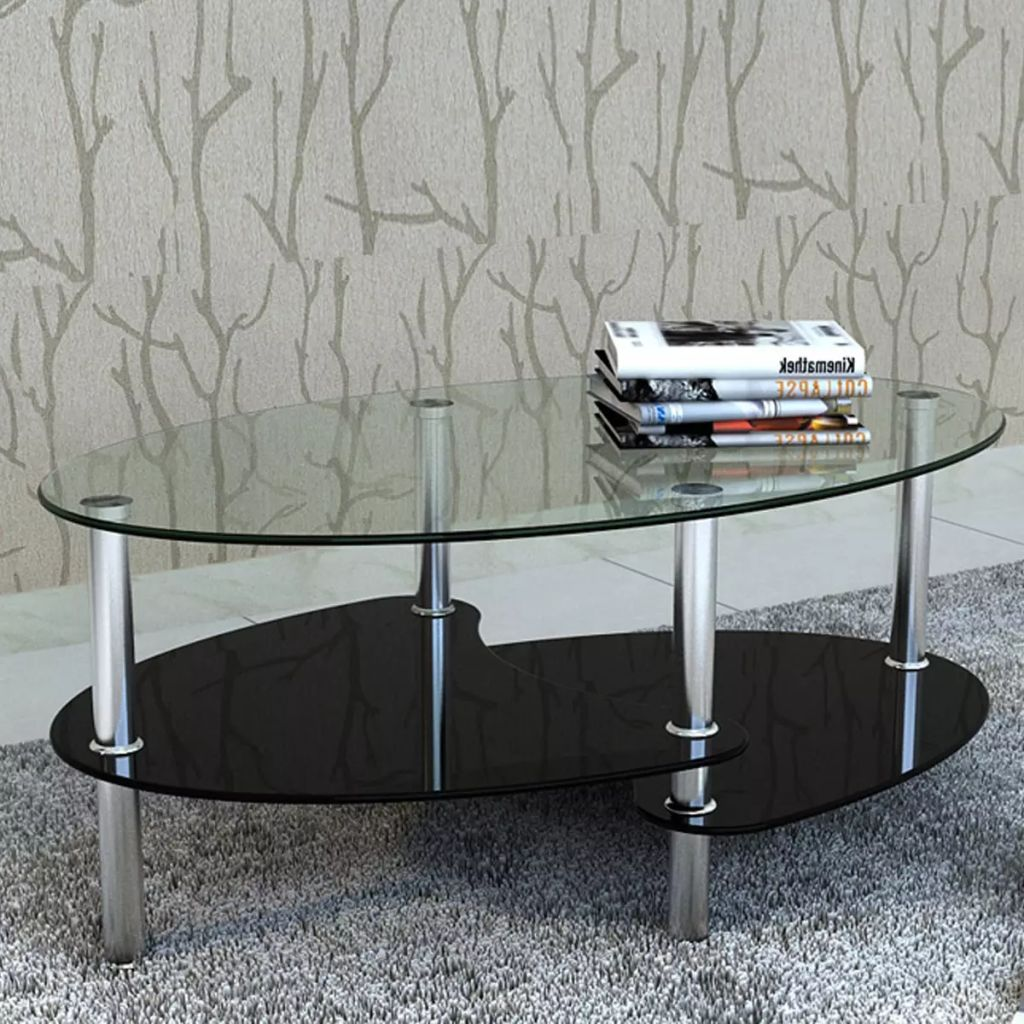 VidaXL Coffee Table With Exclusive Design Black