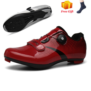 Professional Athletic Bicycle Shoes MTB Cycling Shoes Men Self-Locking Road Bike Shoes sapatilha ciclismo Women Cycling Sneakers 11