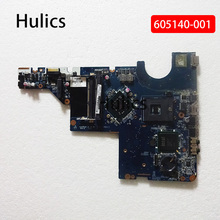 Hulics Originele 605140-001 Moederbord Fit Voor Hp Compaq G42 G62 CQ42 CQ56 G56 CQ62 Moederbord DDR3 GL40 DA0AX3MB6C2 main Board