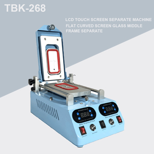 Image 1 - Genuine TBK 268 Separator Machine Automatic LCD Screen Frame Bezel Heating For Flat Curved Screen Glass Middle Frame Separate