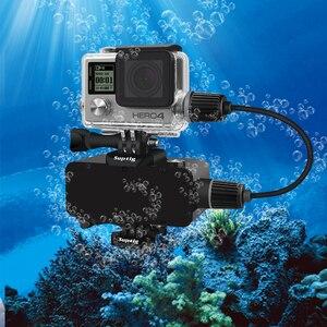 Image 5 - Suptig 5200mAh עמיד למים כוח בנק סוללה מטען עמיד למים מקרה עבור GoPro גיבור 8/7/5/4/3 פעולה מצלמה SJ8 H9R טעינת תיבה