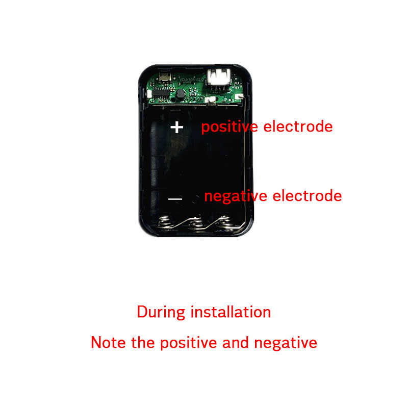 Taşınabilir 2 USB bağlantı noktaları PowerBank DIY durumda 3x18650 pil şarj aleti mobil telefon şarj cihazı güç bankası kutusu kabuk kiti için Iphone huawei
