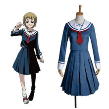 Japanese/Korean Hell Girl Enma Ai cosplay Costume School Uniforms JK Student Sailor Suit Maid Dress Princess Dress(China)