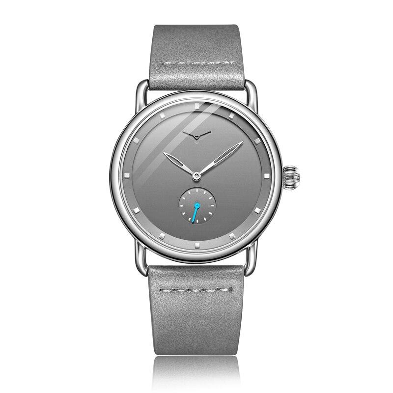 Casual watch men brand ONOLA quartz wristwatch simple waterpoor leather man watch Luxury watches 7