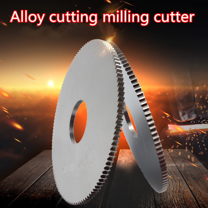 1PCS 40mm/50mm/60mm/75mm/80mm/100mm Solid Carbide Cutting Saw Blade Milling Cutte ,Slotting Cutter,(0.8mm 1.0mm 1.5mm-5.0mm)