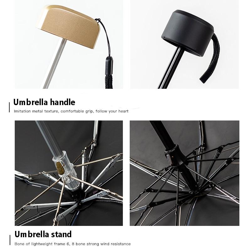 Mini Pocket 5 FoldingSunshade Sunny Umbrella Rain Women Sun Protection UV Umbrella Portable Compact Folding Sun Umbrella (3)