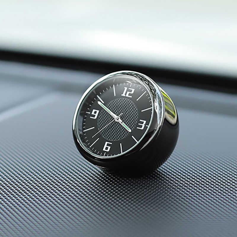 רכב שעון שיפוץ פנים זוהר אלקטרוני קוורץ קישוטי שעון לאקורה BMW מרצדס בנץ יונדאי kia טויוטה peugeot פורד