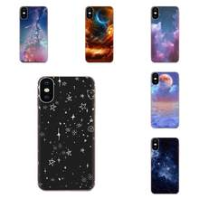 Soft TPU Cell Phone Case Cover Moon Star Bling For Huawei Honor Nova Note 5 5I 8A 8X 10 Pro 9X For Moto G G2 G3 G4 G5 G6 G7 Plus(China)