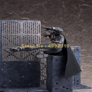 Image 4 - comic bat man arkham knight moveable action figure pvc collection model 23cm Toy