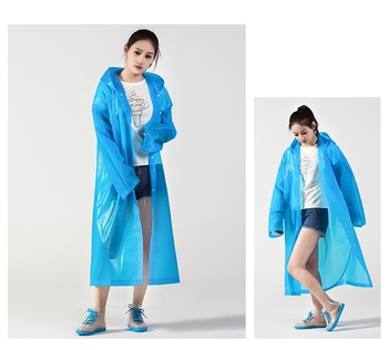 Thickenable Protective Raincoat Protective Jacket Coat Rainproof and Windproof Outdoor Travel