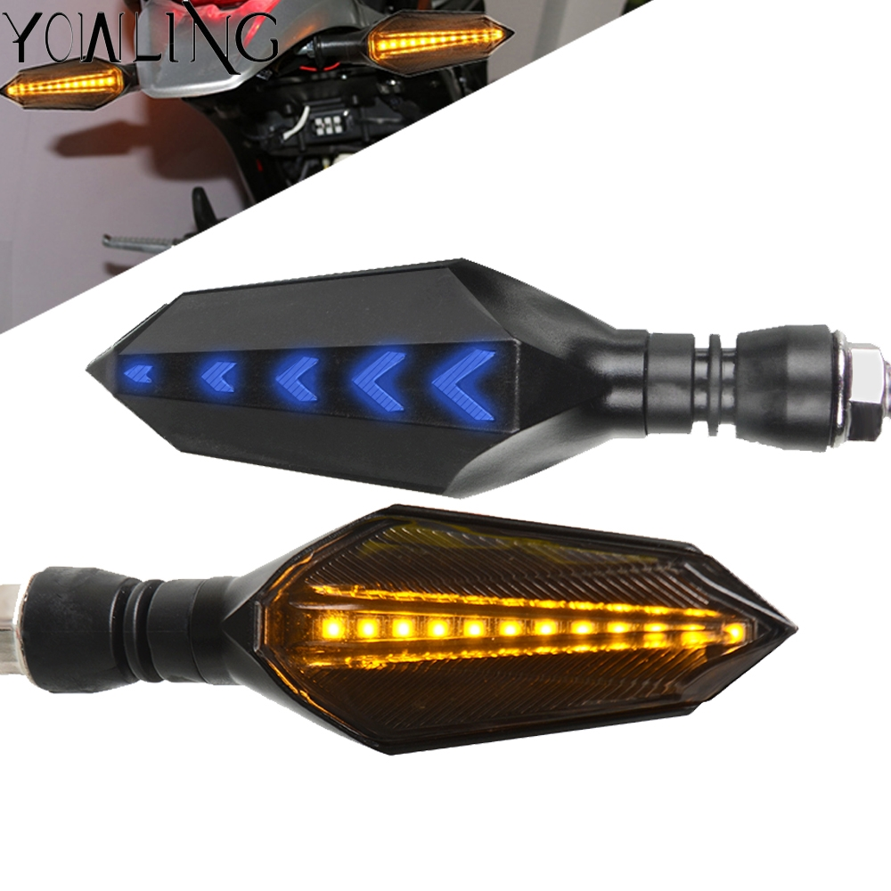 For BMW F650GS F800GS F650 F800 F 650 800 GS 2008-2012 Universal Amber Light Led Motorcycle Turn Signal Indicator Light image