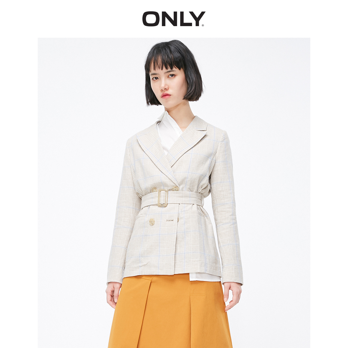 ONLY Women's Mid-length Double-breasted Blazer | 119108533