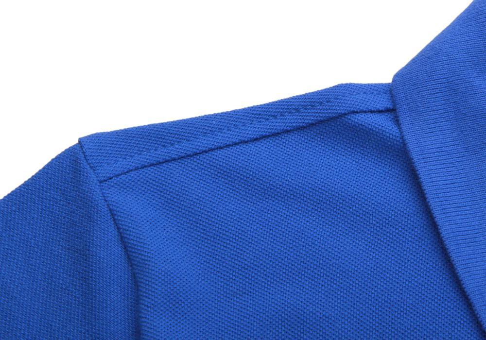 Image 4 - Мужская летняя рубашка поло, брендовая Модная хлопковая рубашка поло с коротким рукавом, мужские однотонные майки из дышащего ДжерсиПоло   -