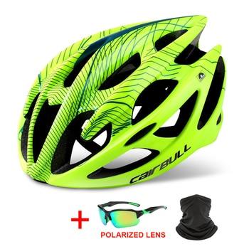 Professional Road Mountain Bike Helmet Ultralight DH MTB All-terrain Bicycle Helmet Sports Ventilated Riding Cycling Helmet 1