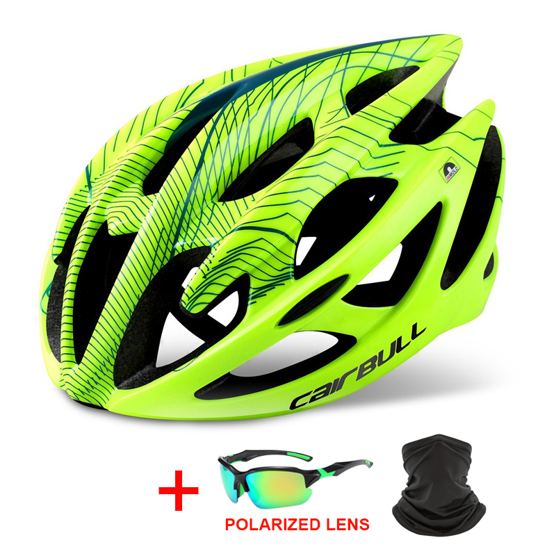 Professional Road Mountain Bike Helmet Ultralight DH MTB All-terrain Bicycle Helmet Sports Ventilated Riding Cycling Helmet