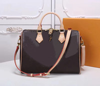 Top quality !! 2019 luxury design classic fashion genuine leather women handbag Speedy 25/30/35 shoulder bag purse Free shipping
