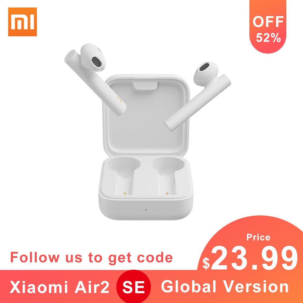Xiaomi Air 2 SE <font><b>TWS</b></font> True Wireless Stereo Bluetooth Earphone <font><b>Mi</b></font> True Earbuds 2SE Synchronous Link Touch Control Earbuds Dual Mic image